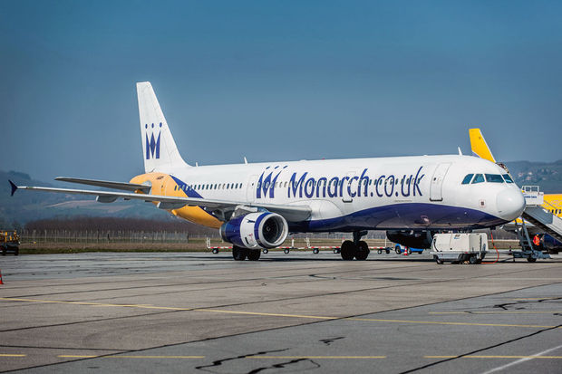 Monarch Airlines en faillite, 110.000 passagers bloqués à l'étranger