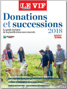 Donations et successions 2018