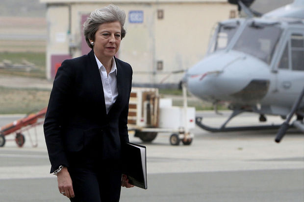 Theresa May en Chine pour anticiper l'après-Brexit