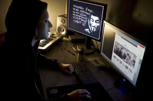 Anonymous revendique un piratage informatique sur la FED