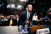 Facebook: l'audition de Zuckerberg au Parlement européen diffusé en direct sur internet