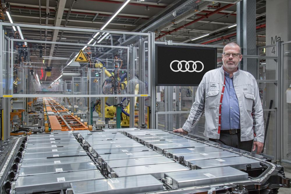Wim Verbeiren, Head of Health & Safety, Security and Environment chez Audi Brussels.