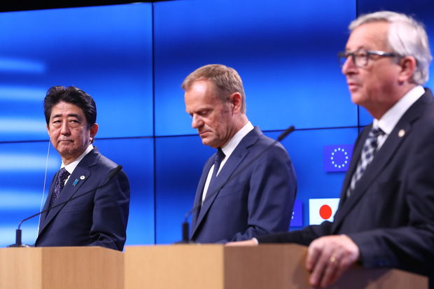 L'UE et le Japon signent un accord commercial