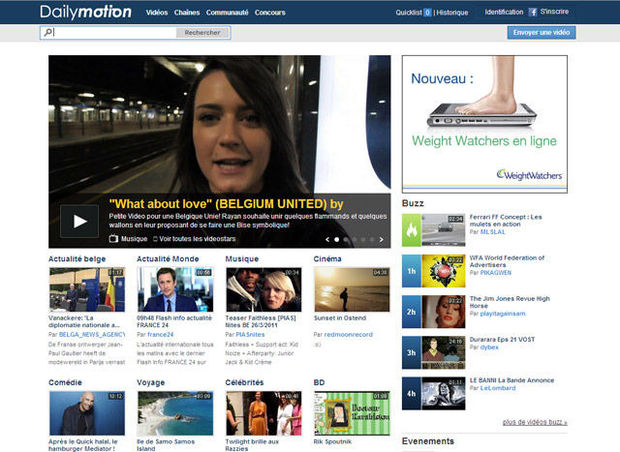 Dailymotion : France Télécom à 100 % du capital en 2013 ?