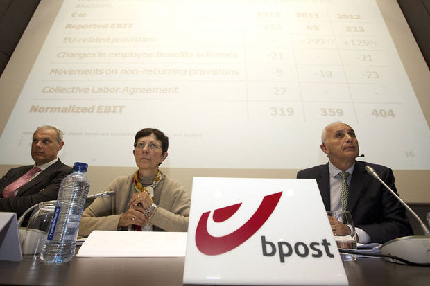 Un million annuel pour le CEO de Bpost