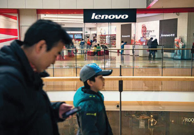 Lenovo, le fabricant chinois aux dents longues
