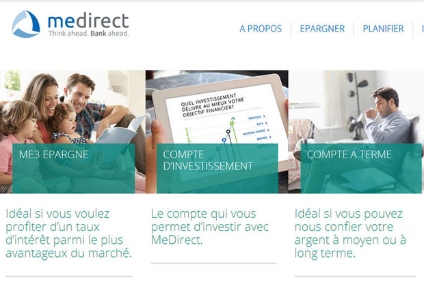 MeDirect innove avec le compte Express