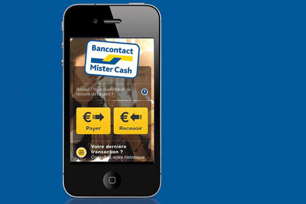 Bancontact/Mister Cash lance son application mobile