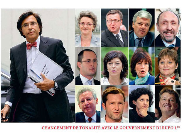 Di Rupo 1er : un gouvernement copie carbone ?