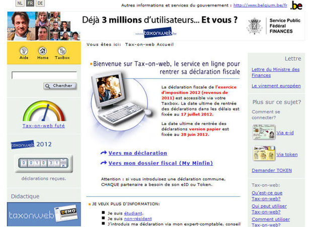 Tax-on-web : mode d'emploi