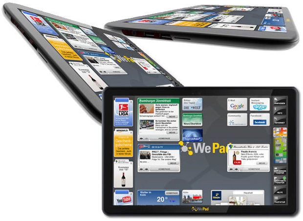 WePad, un anti-iPad sous Google Android