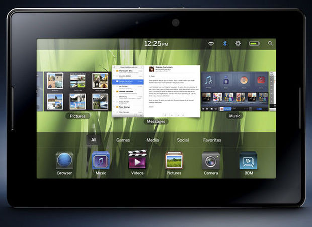 BlackBerry PlayBook, la tablette pour frimer au boulot