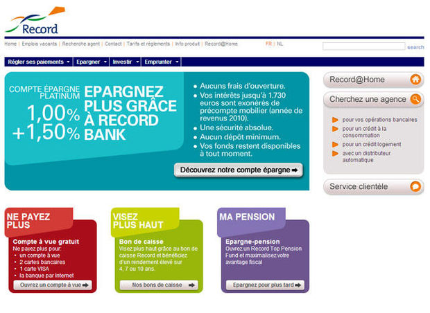 Record Bank veut toucher le grand public