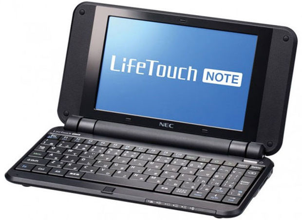 Nec lance son Netbook LifeTouch Note sous Android