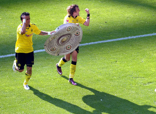 Football : le Borussia Dortmund champion... mais pas en Bourse