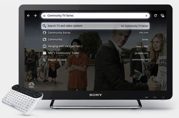 Google TV en Europe, au début de 2012