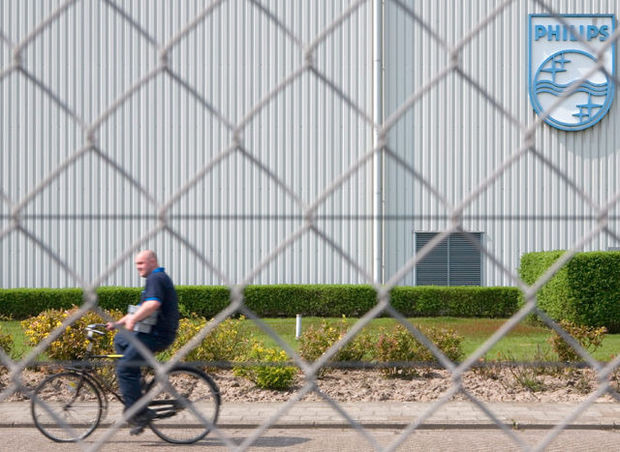 Suppression d'emplois chez Philips: inquiétude à Turnhout