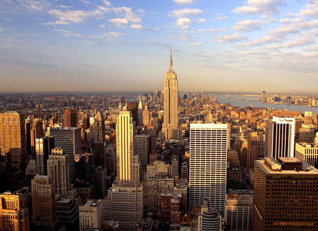 L'Empire State Building se rapproche de la Bourse de New York