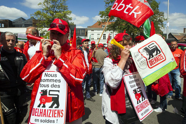 "Delhaize: ""Un dialogue de sourds"""