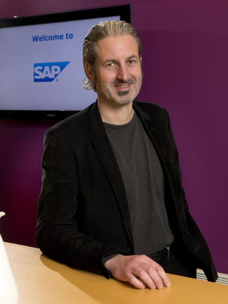 Johan Mine, Business Development Manager SME chez SAP Belgique.