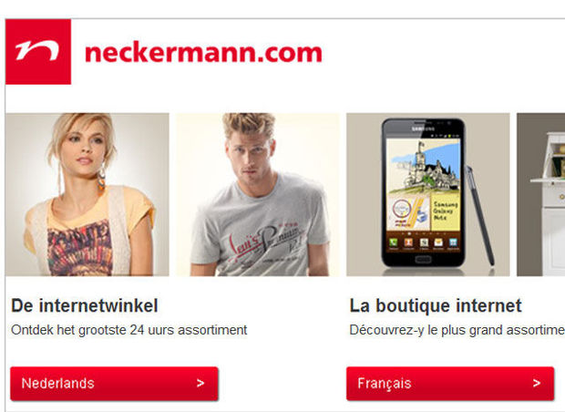 Faillite de l'entreprise Neckermann.com