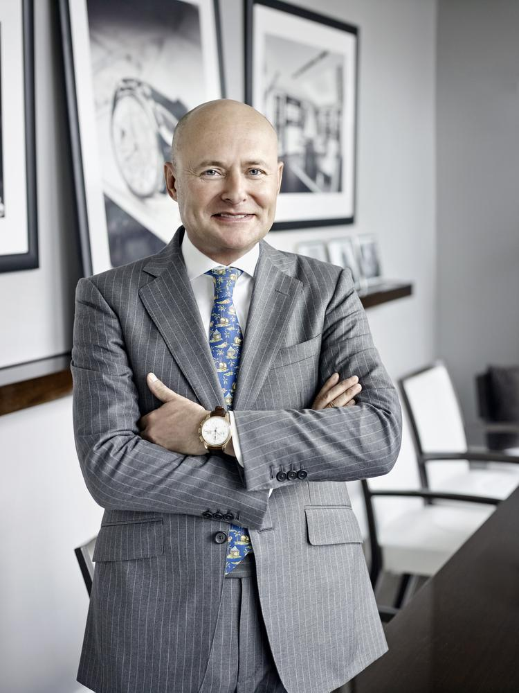 Georges Kern, CEO d' IWC.