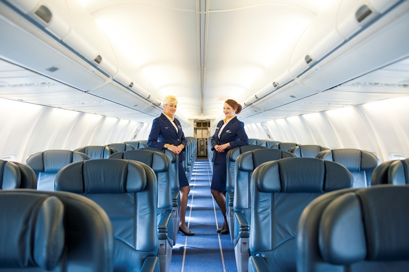 A louer un avion ryanair de luxe en images for Interieur avion