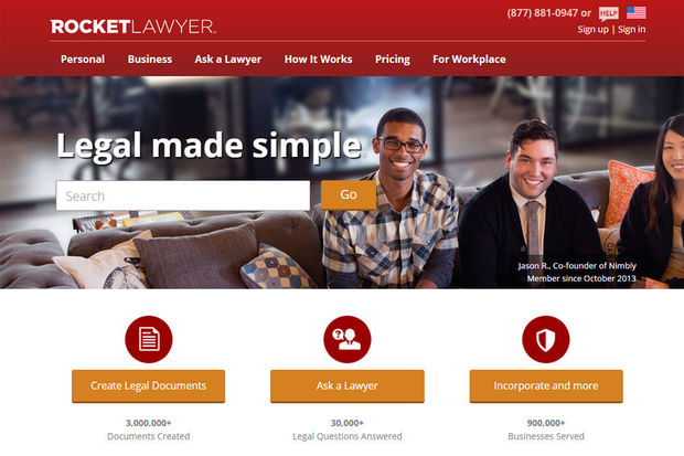 "La start-up Rocket Lawyer va-t-elle ""ubériser"" les avocats ?"