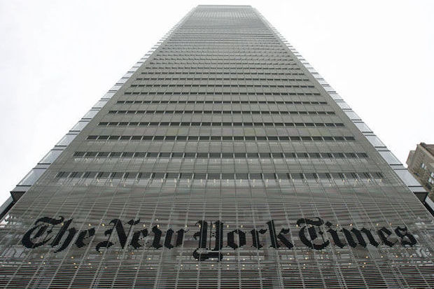 """Au New York Times, on ne voit pas le Net tuer le papier"""