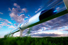 Le train futuriste Hyperloop met un pied en Chine